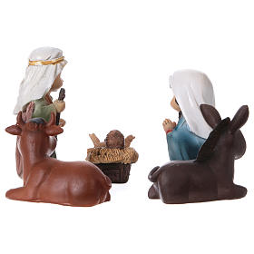 Nativity figurines 5 pieces, children's line 9 cm s2