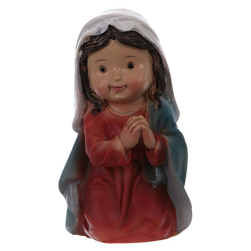 Nativity figurines 5 pieces, children's line 9 cm 4