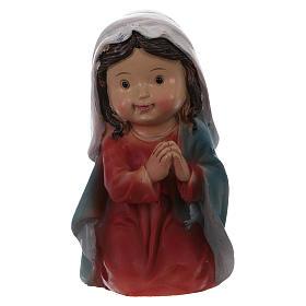 Estatuas Natividad 5 piezas línea niño 9 cm s4