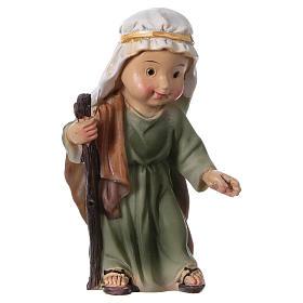 Estatuas Natividad 5 piezas línea niño 9 cm s5