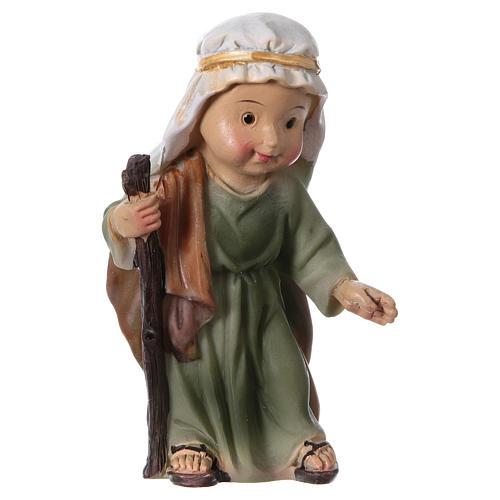 Estatuas Natividad 5 piezas línea niño 9 cm 5