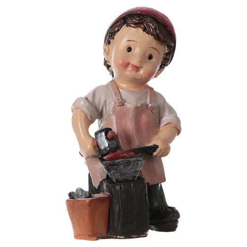 Blacksmith for Nativity Scene 9 cm, children's line 3
