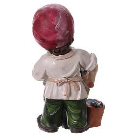 Estatua herrero línea niño 9 cm s4