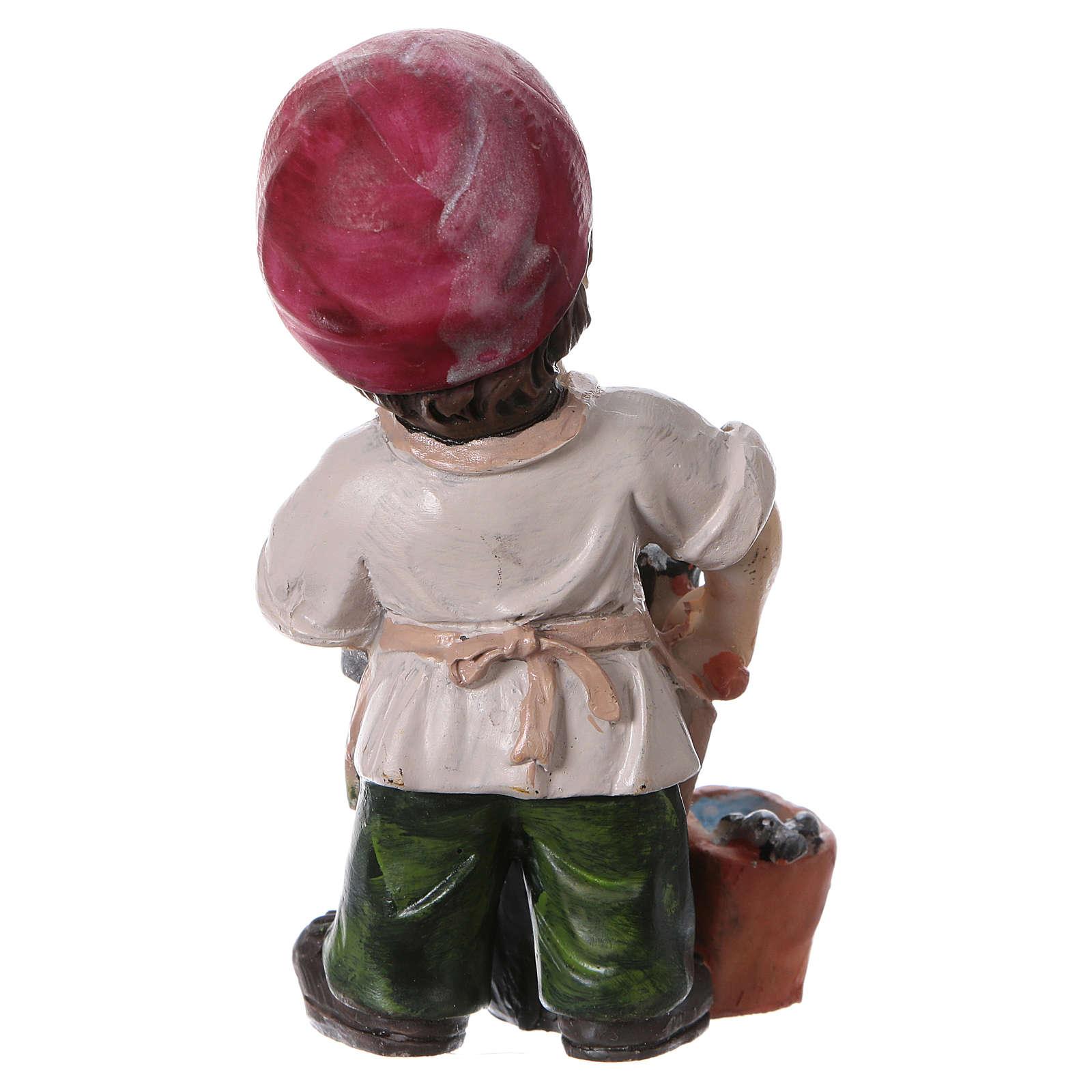 Santon forgeron pour crèche 9 cm gamme enfants 3