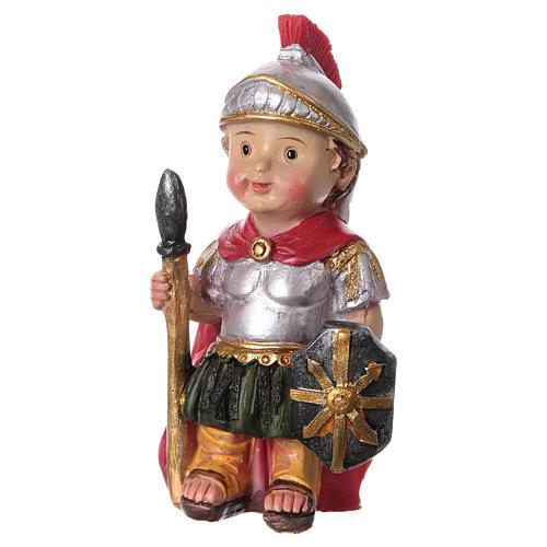 Santon soldat romain gamme enfants crèche 9 cm 2