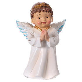 Nativity Scene figurines: Angel in prayer for Nativity Scene of 9 cm, children's line