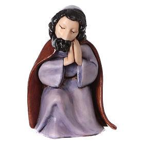 PVC Holy Family for Moranduzzo Nativity scene 7 cm 5 pieces, Children's Line s5