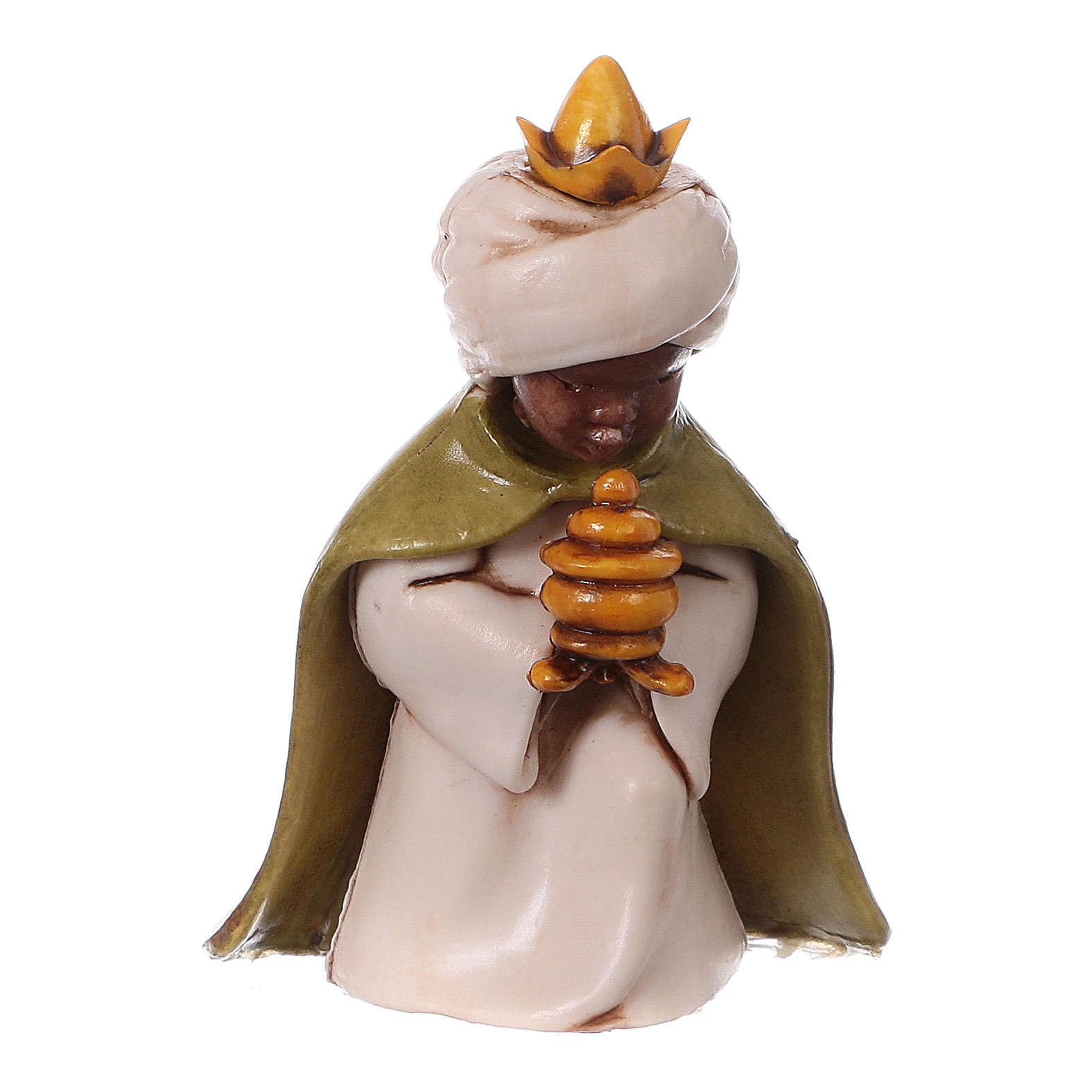 Reyes Magos belén Moranduzzo 7 cm línea niños 4
