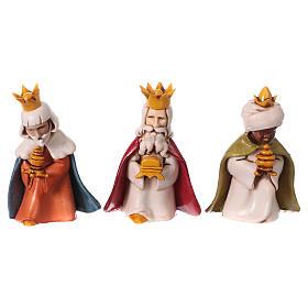 Reyes Magos belén Moranduzzo 7 cm línea niños s1