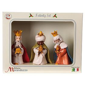 Reyes Magos belén Moranduzzo 7 cm línea niños s6