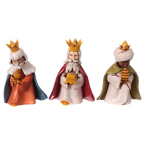 Reyes Magos belén Moranduzzo 7 cm línea niños 1