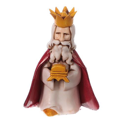 Reyes Magos belén Moranduzzo 7 cm línea niños 3