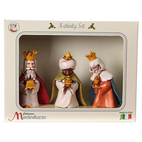 Reyes Magos belén Moranduzzo 7 cm línea niños 6