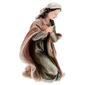 Nativité en résine peinte 40 cm s3