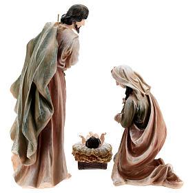 Nativité en résine peinte 40 cm s7