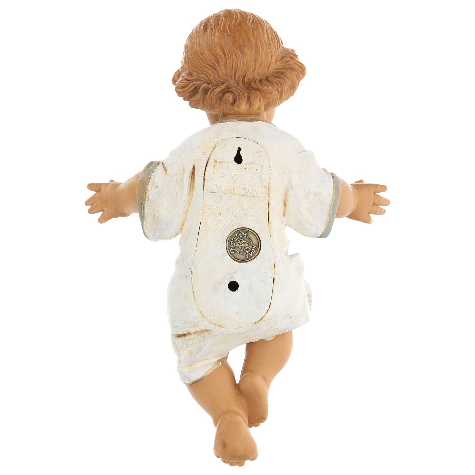 Niño Jesús para belén Fontanini 65 cm 4