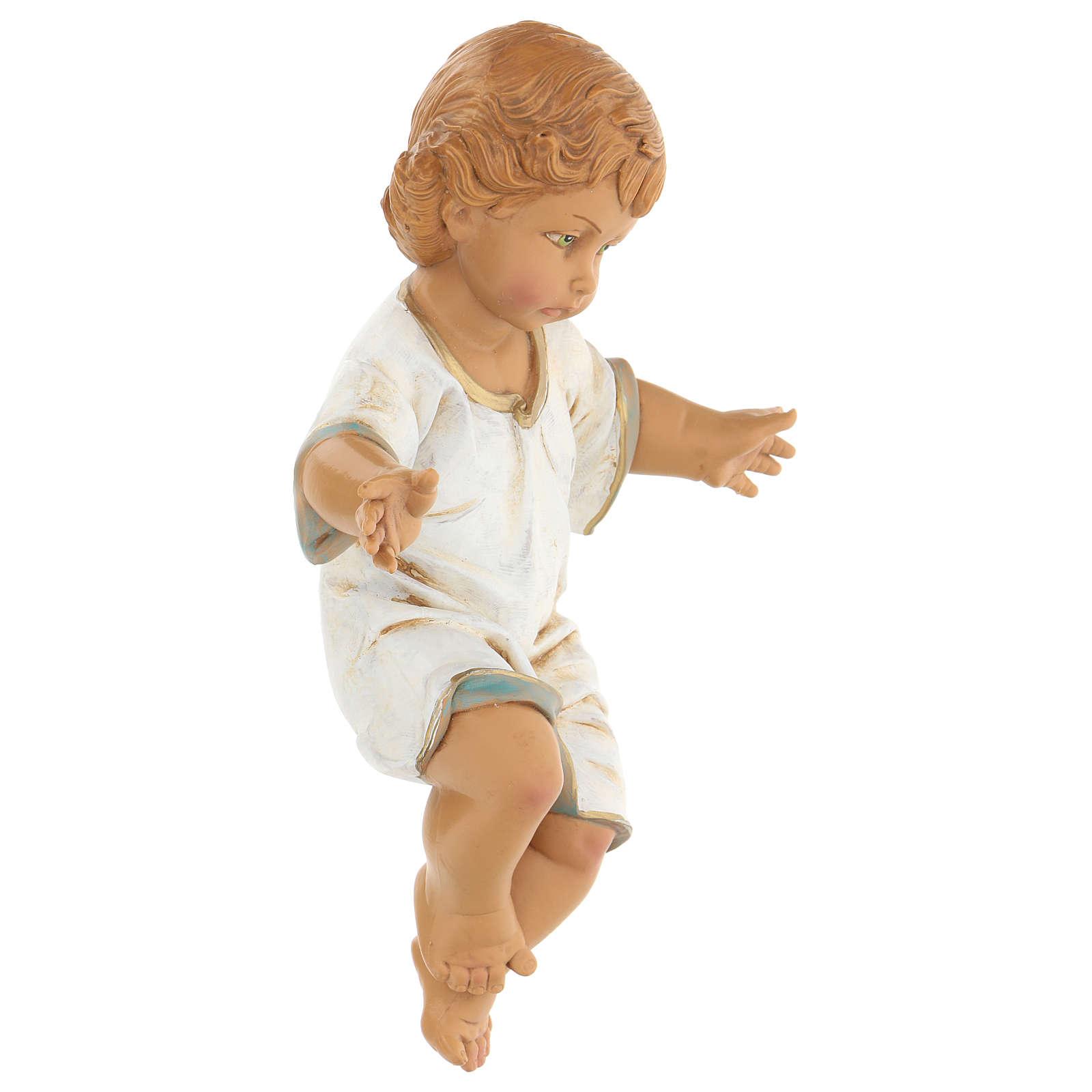 Enfant Jésus pour crèche Fontanini 65 cm 4