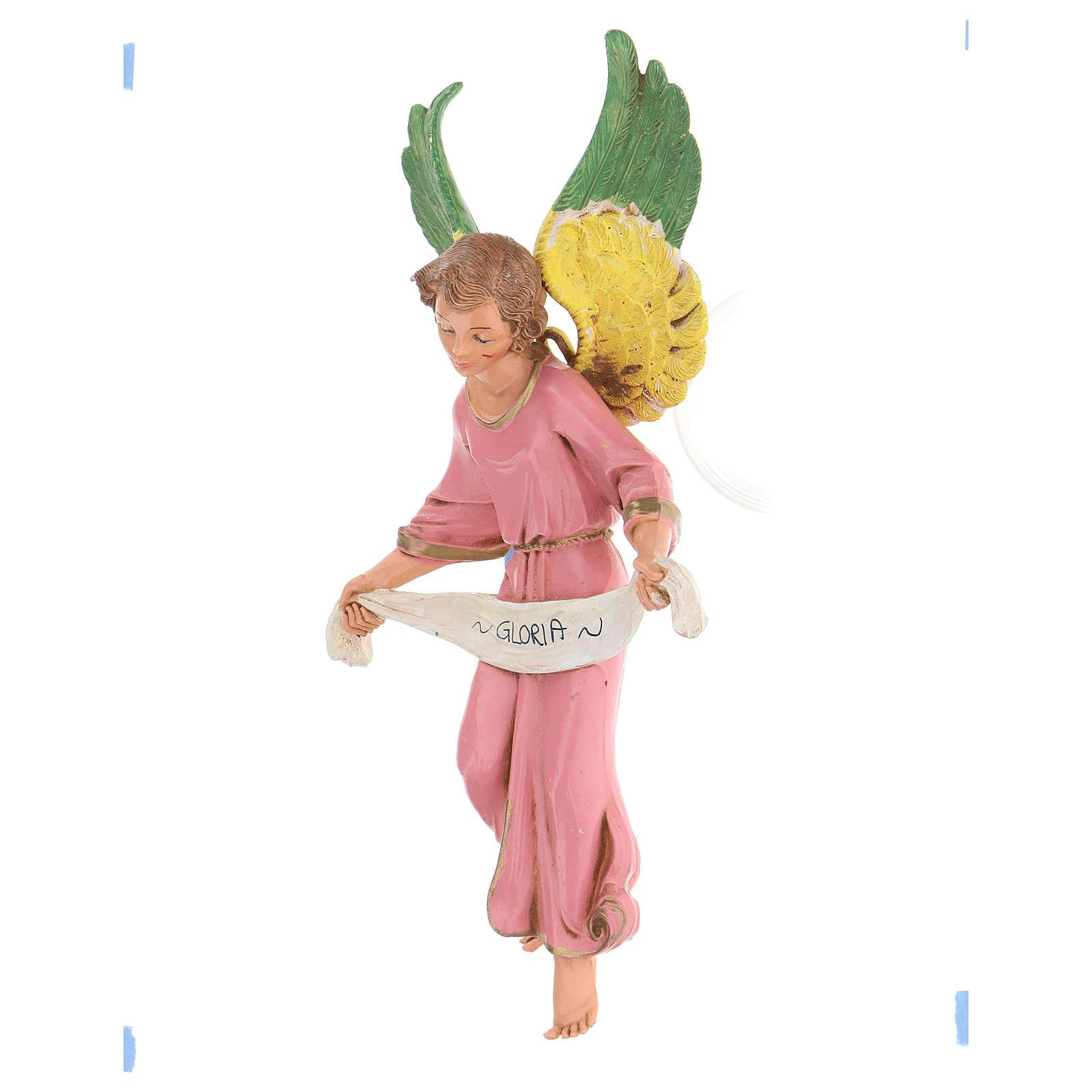 Ange gloire rose 30 cm Fontanini 4