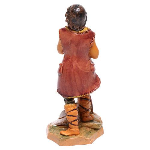 Pastore con pecora presepe Fontanini 12 cm 2