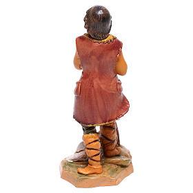 Pasterz z owcą szopka Fontanini 12 cm s2