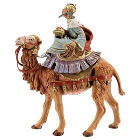 Tres Reyes Magos y camellos para belén Fontanini 10 cm s4