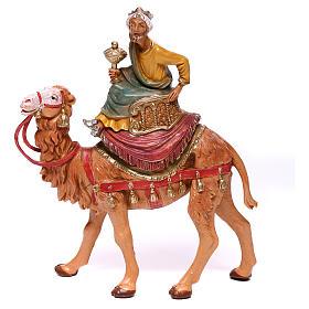 Rois Mages sur chameaux pour crèche Fontanini 10 cm s4