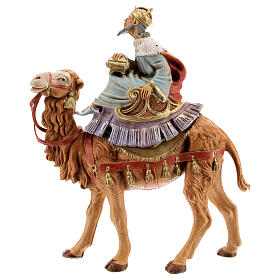 Trzej Królowie na wielbłądach do szopki Fontanini 10 cm s4