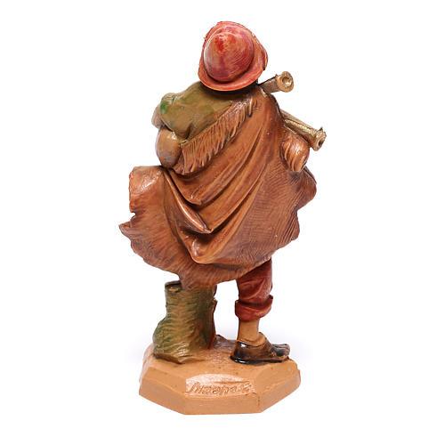 Pastor que toca la gaita belén Fontanini 6,5 cm 2