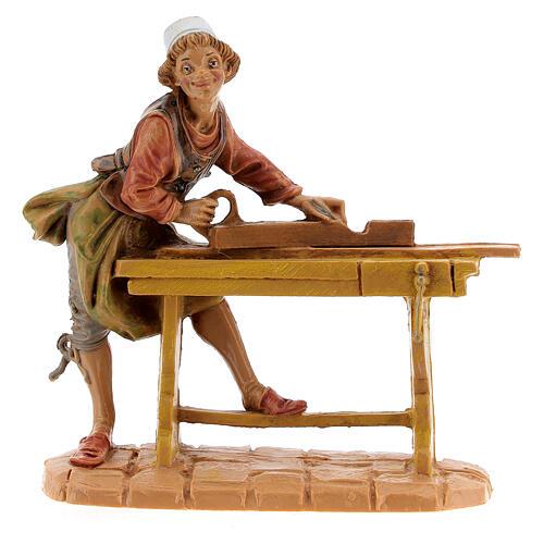 Statuina falegname presepe Fontanini 10 cm 1
