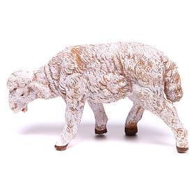 Mouton blanc pour crèche Fontanini 12 cm s1