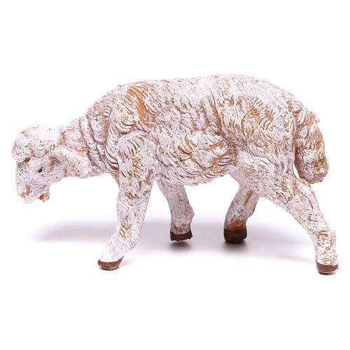 Mouton blanc pour crèche Fontanini 12 cm 1