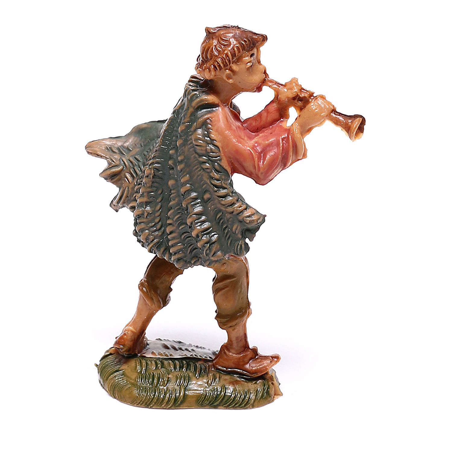 Pasterz grający na flecie szopka Fontanini 4 cm 4
