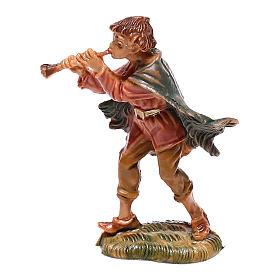 Pasterz grający na flecie szopka Fontanini 4 cm s1