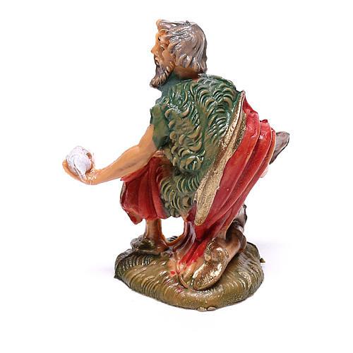 Pastor com ovos para presépio Fontanini com figuras de 4 cm de altura média 2