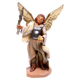 Ange avec foudre en main Fontanini crèche 12 cm s1