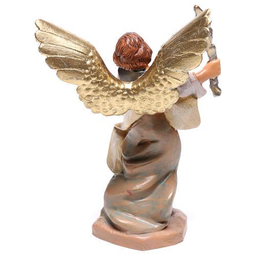 Ange avec foudre en main Fontanini crèche 12 cm 2