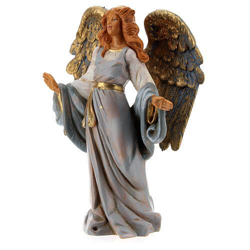 Ángel con brazos abiertos Fontanini 12 cm 2