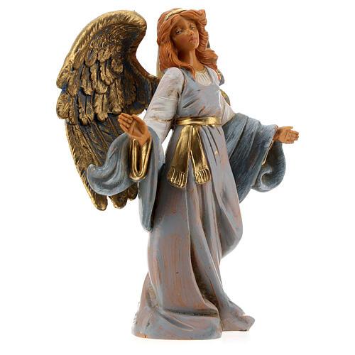 Ángel con brazos abiertos Fontanini 12 cm 3