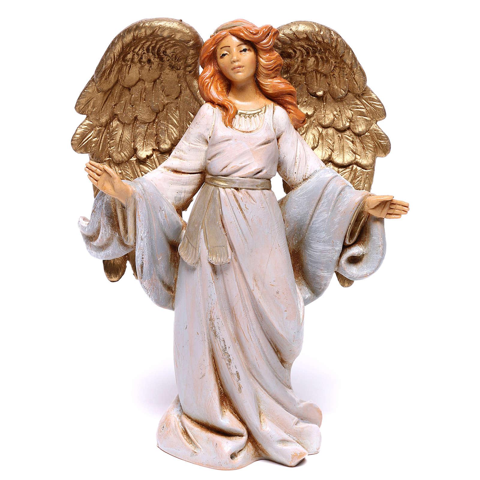 Anioł z otwartymi ramionami Fontanini 12 cm 4