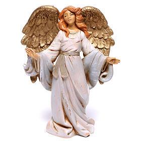 Anjo de braços abertos para presépio Fontanini com figuras de 12 cm de altura  média s1