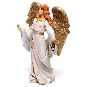 Anjo de braços abertos para presépio Fontanini com figuras de 12 cm de altura  média s2