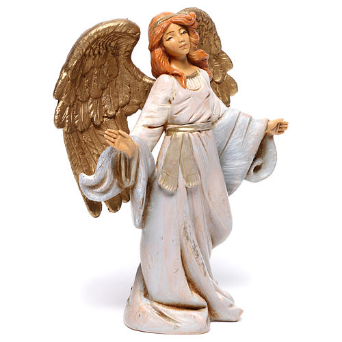 Anjo de braços abertos para presépio Fontanini com figuras de 12 cm de altura  média 3