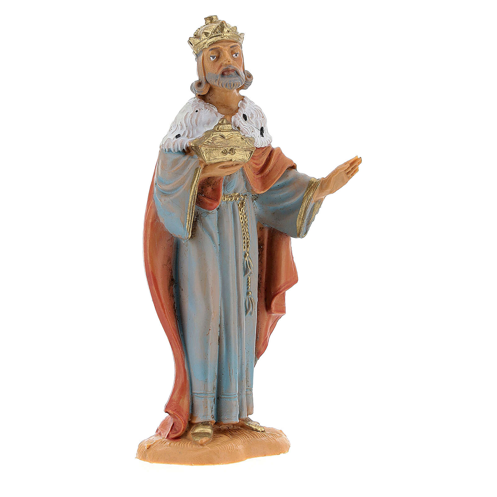 Rois Mages à pied crèche Fontanini 10 cm 4