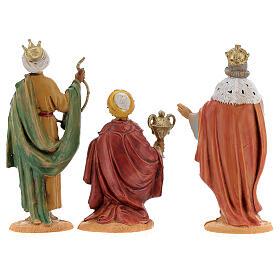 Rois Mages à pied crèche Fontanini 10 cm s5