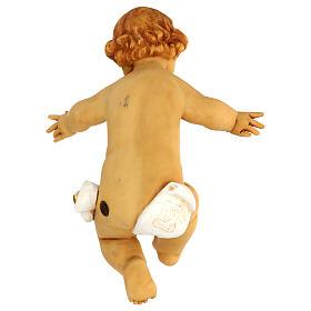 Gesù Bambino senza veste in resina presepe Fontanini 125 cm s3