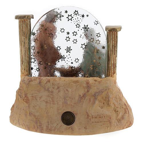 STOCK Natività in resina con carillon presepe Fontanini 17 cm 8