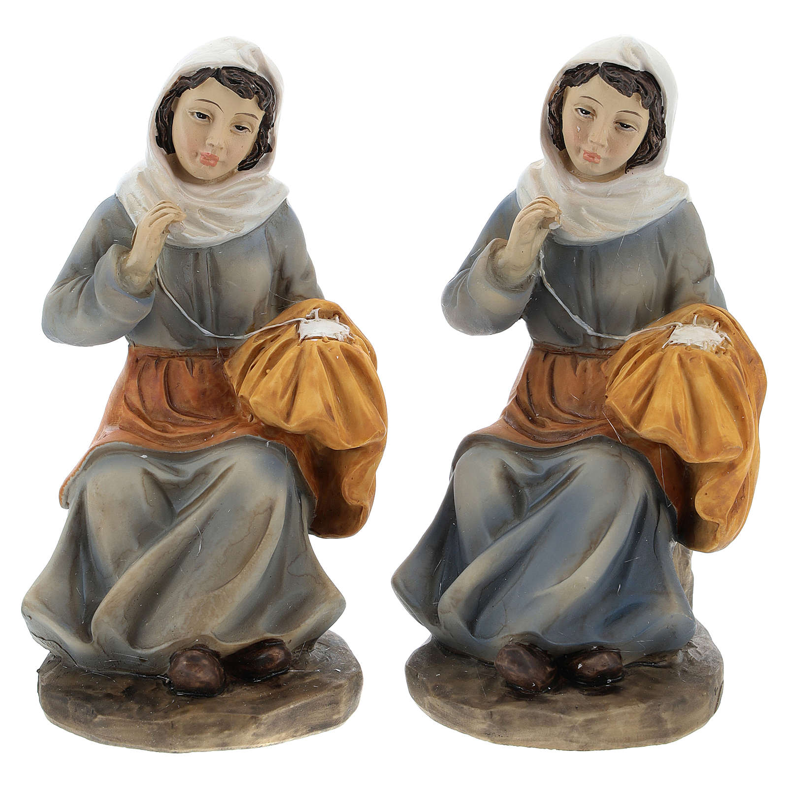 Spinner for 15 cm nativity, 2 pc set 3