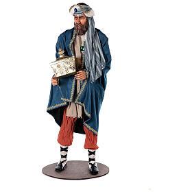 Rey Magos Lifesize 170 cm de resina y tejido s5