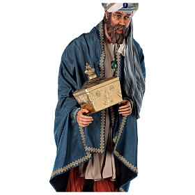 Rey Magos Lifesize 170 cm de resina y tejido s14