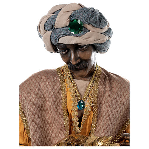 Rey Magos Lifesize 170 cm de resina y tejido 4